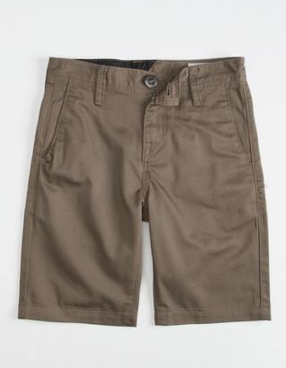 Volcom Frickin Drifter Boys Mushroom Shorts