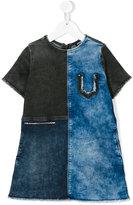 Diesel denim patchwork dress