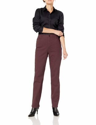 Gloria Vanderbilt Women's Plus Size Amanda Polished Trouser Pant