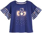 Hello Kitty Ruffle-Sleeve T-Shirt, Little Girls (4-6X)