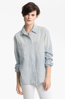 TEXTILE Elizabeth and James 'Bianca' Shirt Maritime Medium