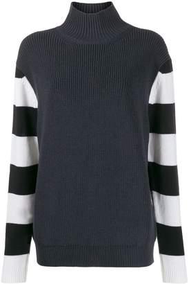 Paul Smith striped sleeve jumper