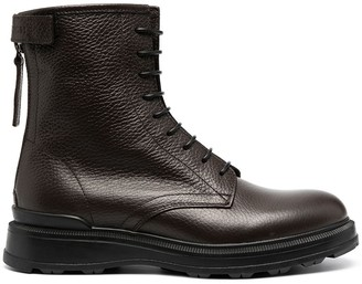Woolrich Pebbled Ankle Boots