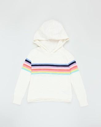 Gapkids Stripe Hooded Sweater - Teens