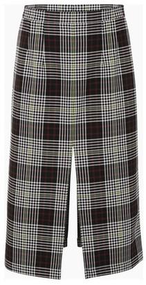 Plan C Checked skirt