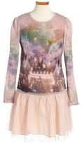 Stella McCartney Girl's 'Primrose' Galaxy Circus Print Dress