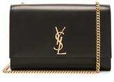Saint Laurent Large Boston Laque Kate Monogramme Chain Bag