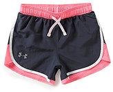 Under Armour Big Girls 7-16 Fast Lane Shorts