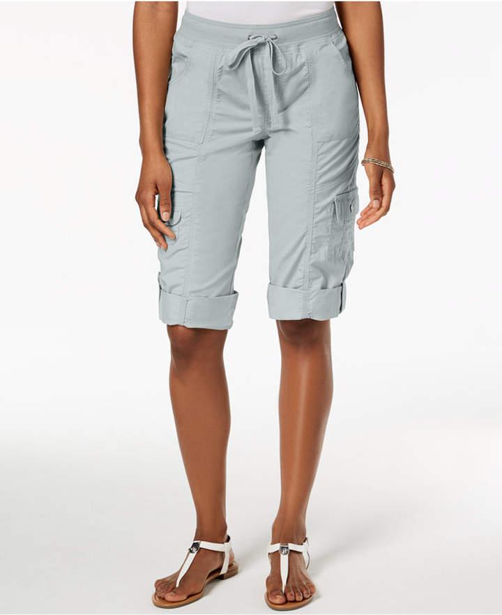 Style & Co Drawstring Cargo Shorts