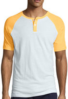 Arizona Short-Sleeve Raglan Henley T-Shirt