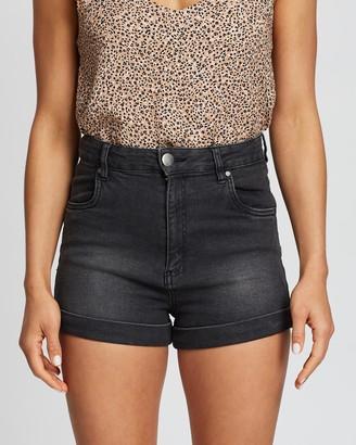 Cotton On High-Rise Classic Stretch Denim Shorts
