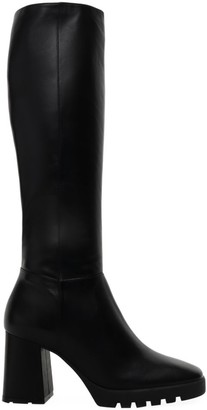 Schutz Malena Lug-Sole Leather Boots