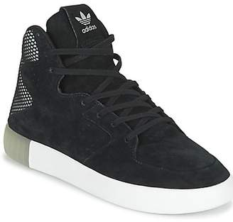 adidas TUBULAR INVADER 2.0 women's Shoes (High-top Trainers) in Black