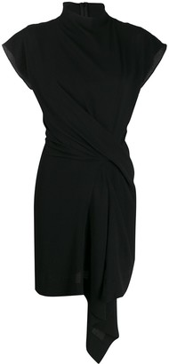 Nina Ricci Draped Front Dress