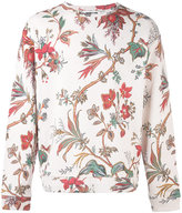 McQ floral embroidered sweatshirt