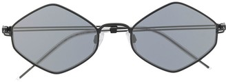 Emporio Armani Hexagon Frame Sunglasses