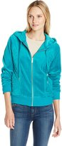 Calvin Klein Women's Hoodie with Quilted Side Panels