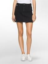 Calvin Klein Dark Denim Mini Skirt