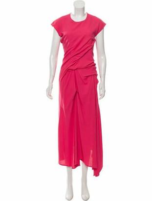 Sies Marjan Sleeveless Maxi Dress Coral