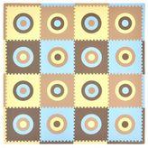 Tadpoles TadpolesTM by Sleeping Partners Circles 16-Piece Playmat Set in Blue/Beige