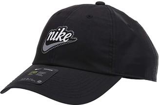 Nike H86 Varsity Cap (Black/Smoke Grey) Caps