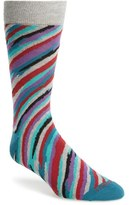 Lorenzo Uomo Brush Strokes Socks (3 for $30)