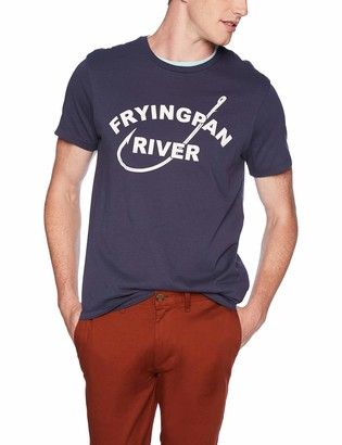 J.Crew Mercantile Men's Frying Pan Fishing Graphic T-Shirt