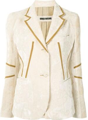 UMA WANG Karen velvet jacket