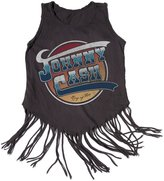 Rowdy Sprout Girl's Johnn Cash Hippie Shake Tank