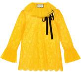 Gucci Chantilly lace shirt