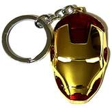 Marvel Movie Comics Avengers Iron Man Metal Mask Pendent Key Ring Key Chain
