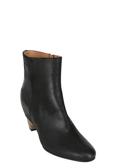 Maison Martin Margiela 70mm Calfskin Ankle Boots