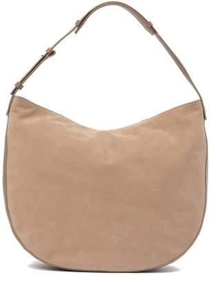 Vince Hudson Medium Leather Hobo Bag