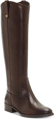 INC International Concepts Inc Fawne Riding Leather Boots, Women Shoes