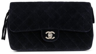 Chanel Pre Owned 1997 Diamond Quilted Backpack