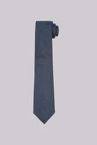 Hardy Amies Teal & Copper Spot Tie