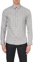 Michael Kors Jackson Slim-fit Checked Shirt