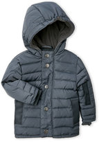 Appaman Newborn/Infant Boys) Charcoal Hooded Down Puffer Coat