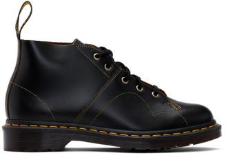 Dr. Martens Black Church Vintage Boots