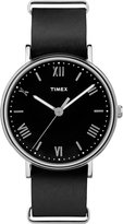 Timex Men's TW2R28600 Southview 41 Leather Strap Watch