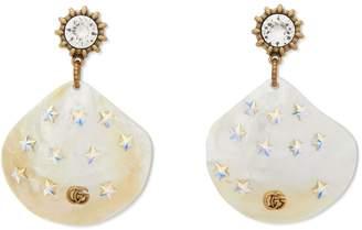 Gucci Shell earrings