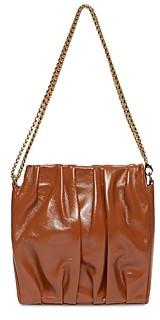 Elleme Vague Square Leather Convertible Crossbody