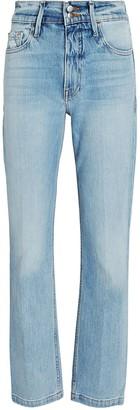 Frame Le Sylvie Slender Straight-Leg Jeans