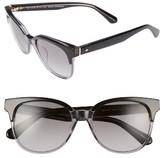 Kate Spade Women's Arlynn 52Mm Sunglasses - Black/ Grey