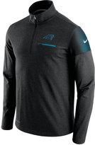 Nike Men's Carolina Panthers Elite Coaches Quarter-Zip Pullover