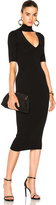 Cushnie et Ochs Cutout Turtleneck Pencil Dress