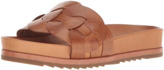 Frye Women's Lily Leather Ring Slide Sneaker