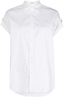 Brunello Cucinelli Plain Short-Sleeved Shirt