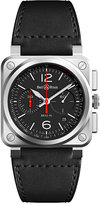 Bell & Ross Bell and Ross BR-03 Men's Stainless Steel Strap Watch