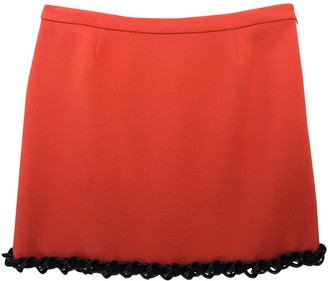 Moschino Orange Skirt for Women